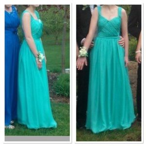 Gorgeous Aquamarine Prom Dress 👗